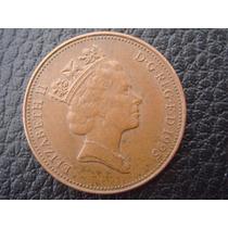 Gran Bretaña - Moneda De Two Pence, Año 1995 - Muy Bueno