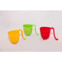 40 Tazas De Plastico Con Asa Varios Colores Shop Eleven