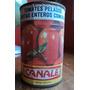 Antigua Lata De Tomates Canale 1989
