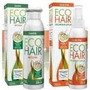 Eco Hair Combo Caida Tratamiento 3 Meses:3 Locion+ 3 Shampoo