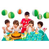 Souvenir Infantil Pelota De Tela Inflable Lavable. Globolota