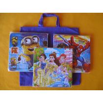 Rompecabezas Infantiles +bolsita De Color- Yk42artesanias