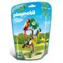 Playmobil 6653 Loros Pajaros Tropicales Jugueteria Aplausos