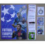 Futbol Europeo Album Completo Figuritas A Pegar Impecable