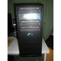 Torre Grabadora Duplicadora Cd Dvd Athena 2+1sata