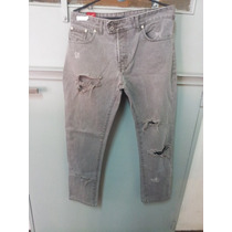 Jeans Chupin Gris Concept