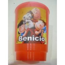 Vasos Plasticos Personalizados Carlitos Y Snoopy 10u