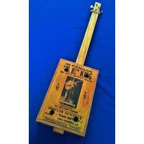 Cigar Box Guitar Modelo Clasica-blues