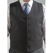 Chaleco Vestir Hombre Clasico Recto Traje Ambo Saco Abrigo