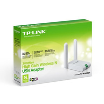 Placa De Red Usb Wifi Tp-link Tl-wn822n 300mbps 2 Antenas