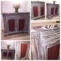 Mueble De Madera 2 Puertas Comedor/cocina/living