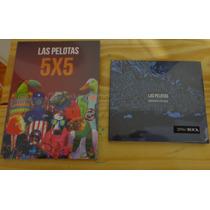 Combo Las Pelotas, Brindando Por Nada Y 5x5(cd/dvd)