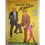 Poster Pelicula Asesinos Por Karate Agentes De Cipol 1967