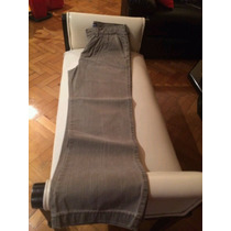 Pantalón De Jean Color Gris Importado
