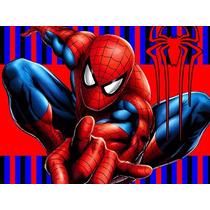 Kit Imprimible Spiderman Hombre Araña Candy Bar Golosinas