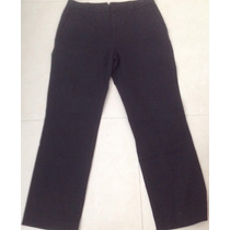 Pantalón Importado Banana Republic Stretch Negro Talle 10 R