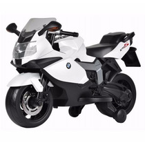 Moto A Bateria 6v Bmw Grand Prix Con Rueditas De Apoyo