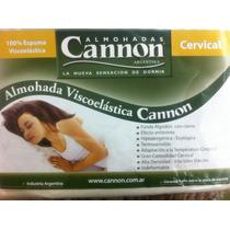 Almohada Inteligente Cannon Cervical O Clasica Top Anatomica