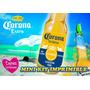 Etiqueta Cerveza Corona Personalizada - Express Invitaciones