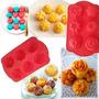 Molde Silicona Mini Torta,flan,gelatina,muffin Flor,jabón