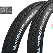 Par Cubiertas Michelin Country Rock 26x1.75 550grs Bicicleta