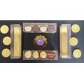 Caja Bombones / Trufas Transparente 15x3.7x4 Cm -pack X 25 U