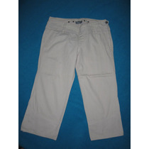 Hermoso Pantalos Jeans Capri Ufo, T. 26, Impecable