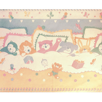 Guarda Decorativa Vinilizada X 10 Mts - Infantil - Animales