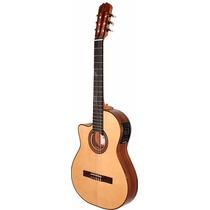 Guitarra Electroacústica La Alpujarra 86kec Jacaranda Zurdos