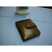Porta-tarjetas De Crédito-portadocumentos-100%-cuero-(dama)-