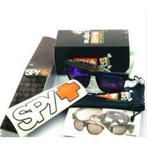 Lentes Anteojos Gafas Spy+ Helm Ken Block. Completos.