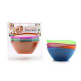 Cinco Coloridos Bowls Apilables Baby Innovation Punto Bebe