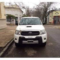 Toyota Hilux Sr 3.0 4x4 Blanca - Unico Dueño