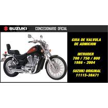 Guia De Valvula Admision De Intruder Suzuki En Contactomoto