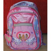 Pequeñas Princesas Mochila 12 - 14 Jardin Escolar Bolso Nena