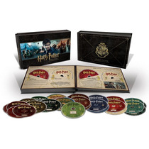Blu-ray Harry Potter Hogwarts Collection / 8 Films 31 Discos