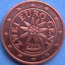 Austria 2 Eurocent 2004 ( Flor De Las Nieves ). Spg