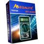 Multimetro Tester Digital Megalite Con Bat De 9v Y Puntas