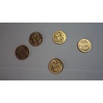 Monedas De Oro Libras Antiguas Originales