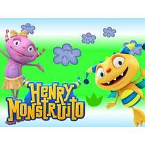 Kit Imprimible Henry Monstruito Cotillon Imprimibles
