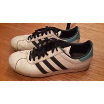 Zapatillas De Adidas De Cuero Modelo Gazelle Talle 43