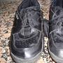 Zapatillas Unisex Negras Numero 34