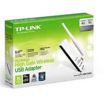 Placa De Red Usb Wireless Tp-link Tl-wn722n 150mbps Wifi