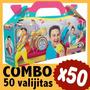 Topa Junior Express Cajita Bolsita Souvenir Combo X 50