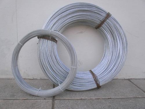 Cable de acero galvanizado 1x7 4 8mm 3mm 6mm para for Cable de acero precio