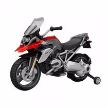 Moto A Bateria 6v Bmw 1200 Gs Rueditas De Apoyo Luz Sonido
