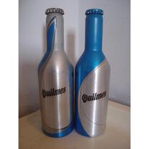 Botellas Llenas Cerveza Quilmes Aluminino 330cm3 Set X 2swqc