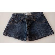 Short Jeans Inquieta Elastizado Bordado Precioso!!
