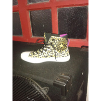 Converse Animal Print Leopardo All Stars Rock