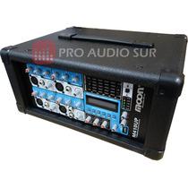 Consola Potenciada Moon 410up Cabezal Amplificador Bluetooth